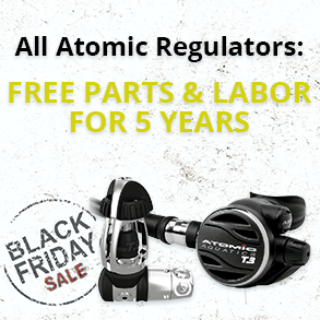 All Atomic Regulators free parts and labor for 5 years