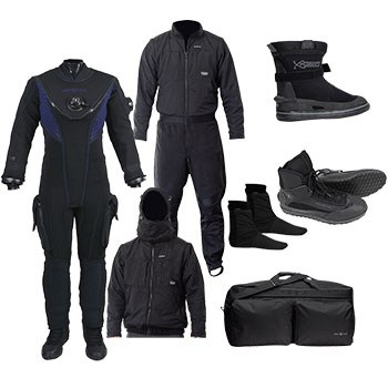 Drysuit Packages