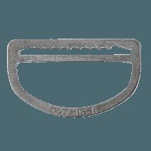 Titanium Sliding D-Ring
