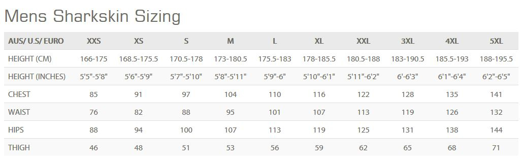 Female Size Chart for OPEN BOX Performance Wear LS Shirt  -
