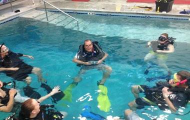 PADI Open Water Referral Class