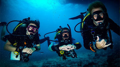 PADI Self-Reliant Diver class